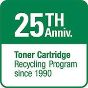 Canon recykluje tonery již 25 let