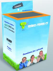 Box pro sběr prázdných tonerových kazet